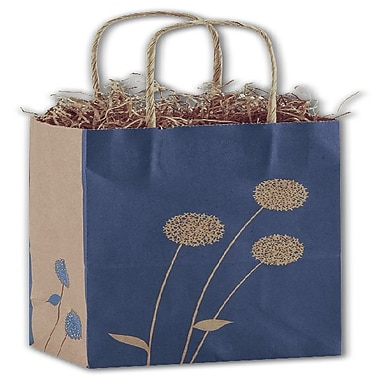 Bags & Bows® Painted Posies Shoppers, 5-1/4