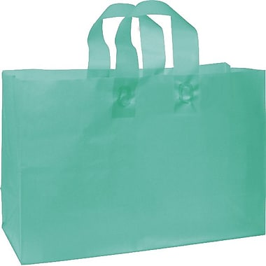 Bags & Bows® Frosted High Density Shoppers, 16