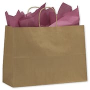 "Bags & Bows® Paper Shoppers Vogue, 16"" x 6"" x 12-1/2"", 250/Pack"