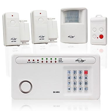 Skylink SC-100 Deluxe Wireless Security System