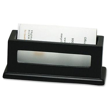 Victor - Porte-cartes professionnelles, 1 4/5 x 4 3/10 x 1 3/5 po, noir
