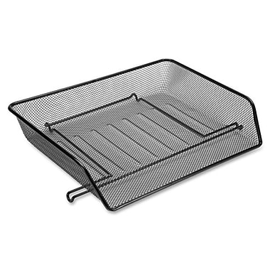 Lorell Side-loading Mesh Letter Trays, 3