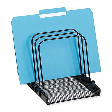 Rolodex Mesh Flip Document Holder, Black