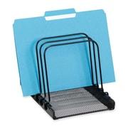 Rolodex Mesh Flip Document Holder, Black