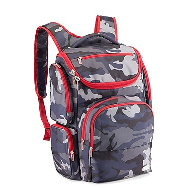 Lug Outfielder Backpack, Camo Navy