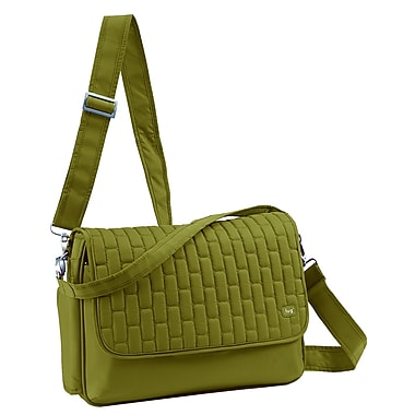 Lug Pontoon Cross Body Bag, Grass