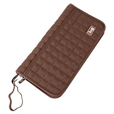 Lug Tango Travel Wallet, Chocolate