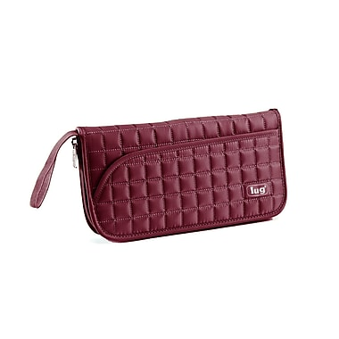 Lug Tango Travel Wallet, Cranberry