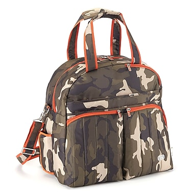 Lug Boxer Overnight and Gym Bag, Camo Olive