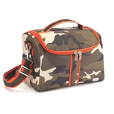 Lug Tacklebox Lunch Tote, Camo Olive
