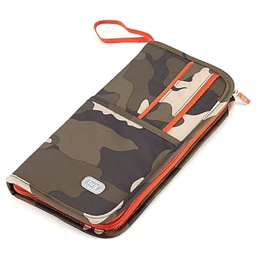 Lug Scout Travel Wallet, Camo Olive