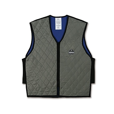 Ergodyne® Chill-Its® 6665 Evaporative Cooling Vest, Gray, XL