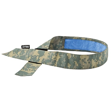 Ergodyne® Chill-Its® 6705 Evaporative Bandana With Cooling Towel, Camo
