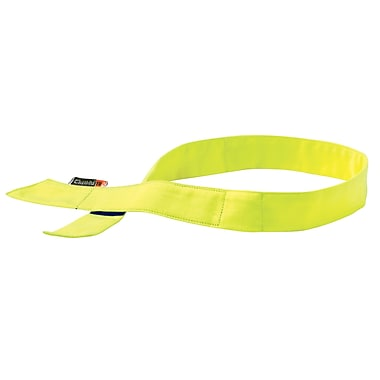 Ergodyne® Chill-Its® 6705 Evaporative Flame Resistance Cooling Bandana, Lime