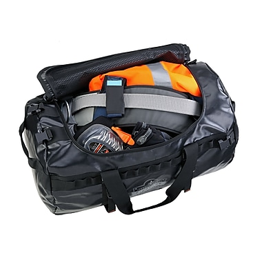 Ergodyne® Arsenal® Water Resistant Duffel Bag, Black, Small