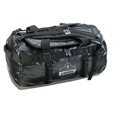 Ergodyne® Arsenal® Water Resistant Duffel Bag, Black, Medium