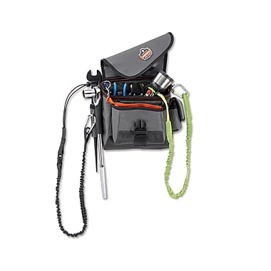 Ergodyne® Arsenal® 16-Pocket Aerial Tool Pouch, Black, 2