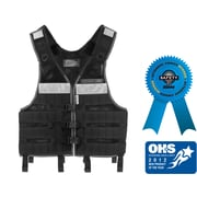 Ergodyne® Arsenal® 5599 Industrial Molle Vest, One Size, Black