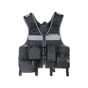 Ergodyne® Arsenal® 5590 Industry Molle Vest Miners Set, One Size, Black