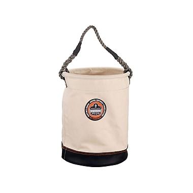 Ergodyne® Arsenal® Leather Bottom Bucket, White, 17