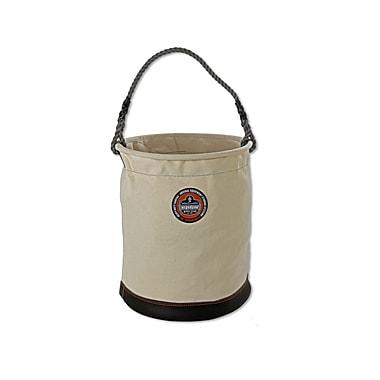 Ergodyne® Arsenal® Leather Bottom Bucket, White, XL