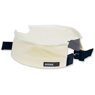 Ergodyne® Arsenal® Canvas Bucket Safety Top, White, Small