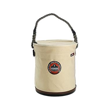 Ergodyne® Arsenal® Plastic Bottom Bucket With Top, White, Large
