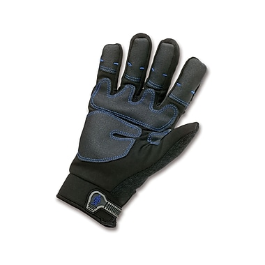 Ergodyne® ProFlex® 818 Black Synthetic Leather Thermal Waterproof Utility Gloves