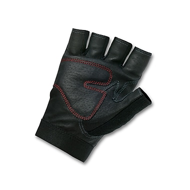 Ergodyne® ProFlex® Leather Lifting Gloves, Black, XL