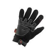 Ergodyne® ProFlex® PVC/Synthetic Leather Cut Resistant Trades Gloves, Black, Large