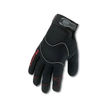 Ergodyne® ProFlex® 812 Synthetic Leather Utility Gloves, Black, Large