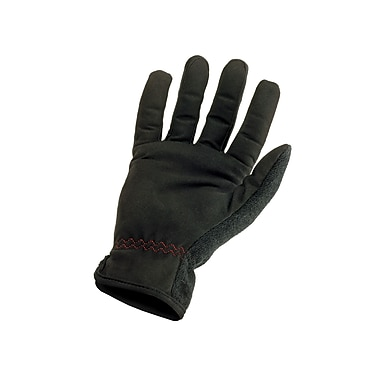 Ergodyne® ProFlex® 815 Synthetic Leather Utility EZ Gloves, Black, Medium
