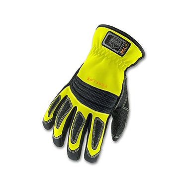 Ergodyne® ProFlex® 730 Fire & Rescue Performance Gloves, Lime, Medium