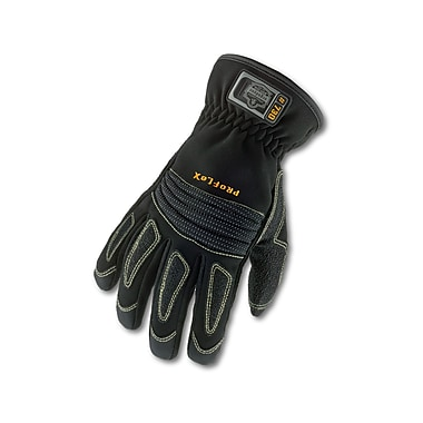 Ergodyne® ProFlex® 730 Fire & Rescue Performance Gloves, Black, 2XL