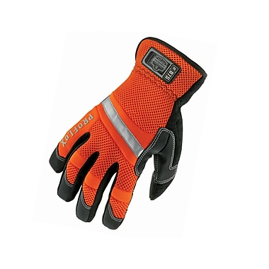 Ergodyne® ProFlex® 875 Orange PVC Hi-Visibility Gauntlet Trades Gloves