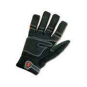 Ergodyne® ProFlex® 876 Synthetic Leather Hi-Visibility Thermal Waterproof Gloves, Orange, Large