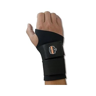 Ergodyne® ProFlex® 675 Ambidextrous Double Strap Black Wrist Supports