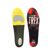 Ergodyne® Trex™ Economy Insole For Men/Women, Orange/Black, Large
