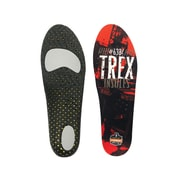 Ergodyne® Trex™ Standard Insole For Men/Women, Orange/Black, Large