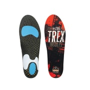 Ergodyne® Trex™ High-Performance Insole For Men/Women, Orange/Black, Large