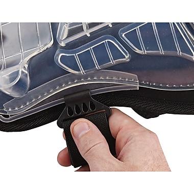 Ergodyne® ProFlex® Injected Gel Knee Pad With Extra Long Cap, Black