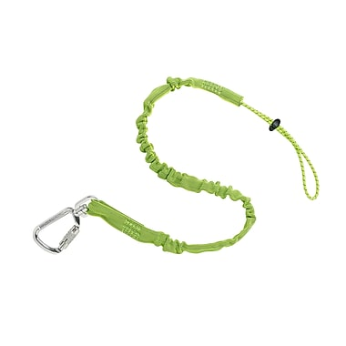 Ergodyne® Squids® Standard Triple Locking Single Carabiner, 15 lbs., Lime