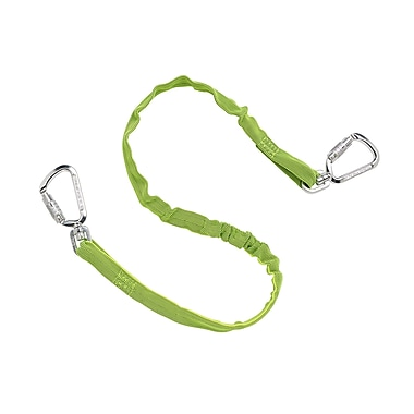 Ergodyne® Squids® Standard Triple Locking Dual Carabiner, 20 lbs., Lime