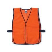 Ergodyne® GloWear® 8010HL Non-Certified Hi-Visibility Economy Vest, Orange, One Size