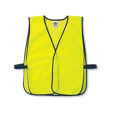 Ergodyne® GloWear® 8010HL Non-Certified Economy Vest, One Size Fits All
