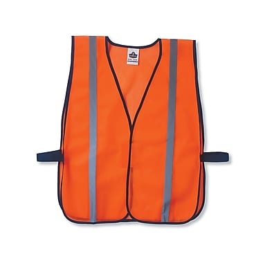 Ergodyne® GloWear® 8020HL Non-Certified Standard Vest, One Size Fits All