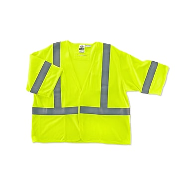 Ergodyne® GloWear® 8356HL Lime Class 3 Hi-Visibility Flame Resistant Modacrylic Vests