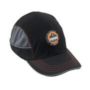 Ergodyne® Skullerz Nylon Taslan Long Brim Bump Cap, Black