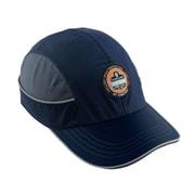 Ergodyne® Skullerz Nylon Taslan Long Brim Bump Cap, Navy