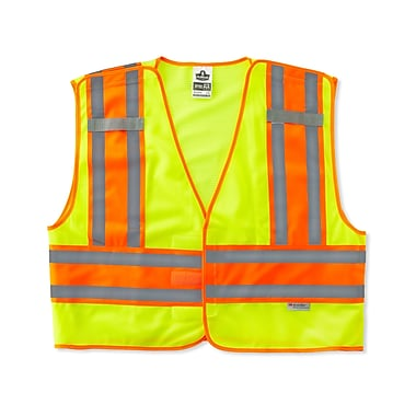 Ergodyne® GloWear® 8245 Lime Public Safety Vests